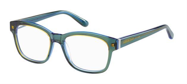 Glasögonbågar av Marc Jacobs, Synoptik