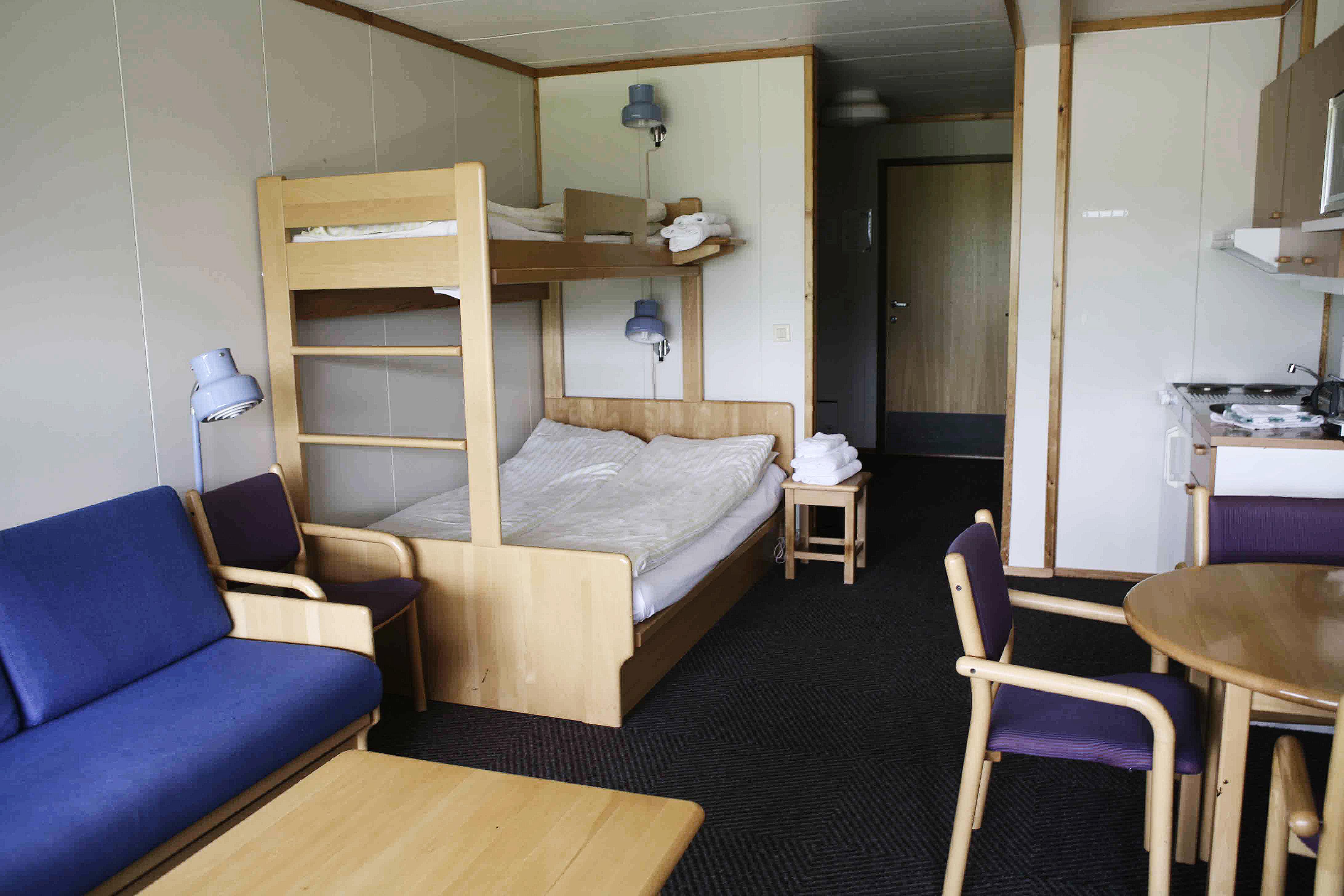 Ett - og to roms leiligheter, 75 meter fra Gaustablikk Høyfjellshotell. Alle med eget bad og toalett , © Gaustablikk Høyfjellshotell