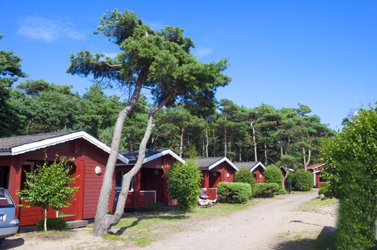 Bengts stugby har 20 mysiga stugor med 4 bäddar