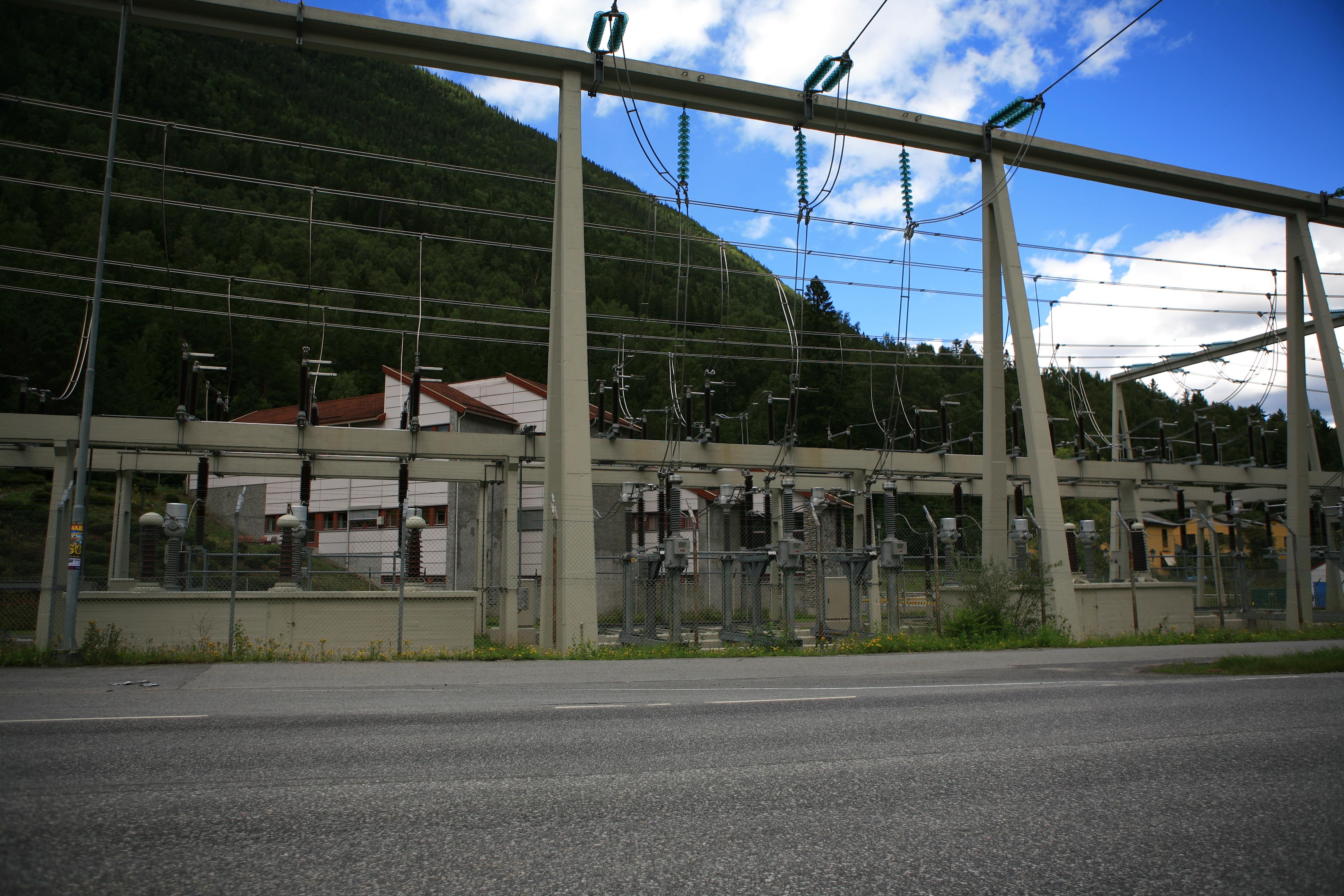 Mår kraftverk er et av Statkrafts fem visningskraftverk , © Hans-Dieter Fleger