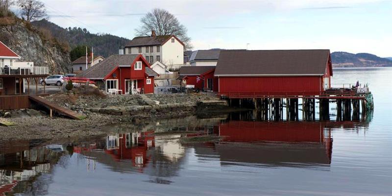Mosvik brygge, Restaurant