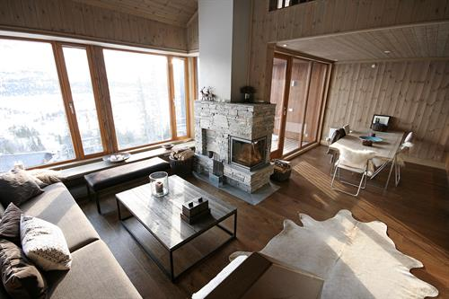 Gaustatoppen Lodge is one of many apartments , © Trond Stegarud