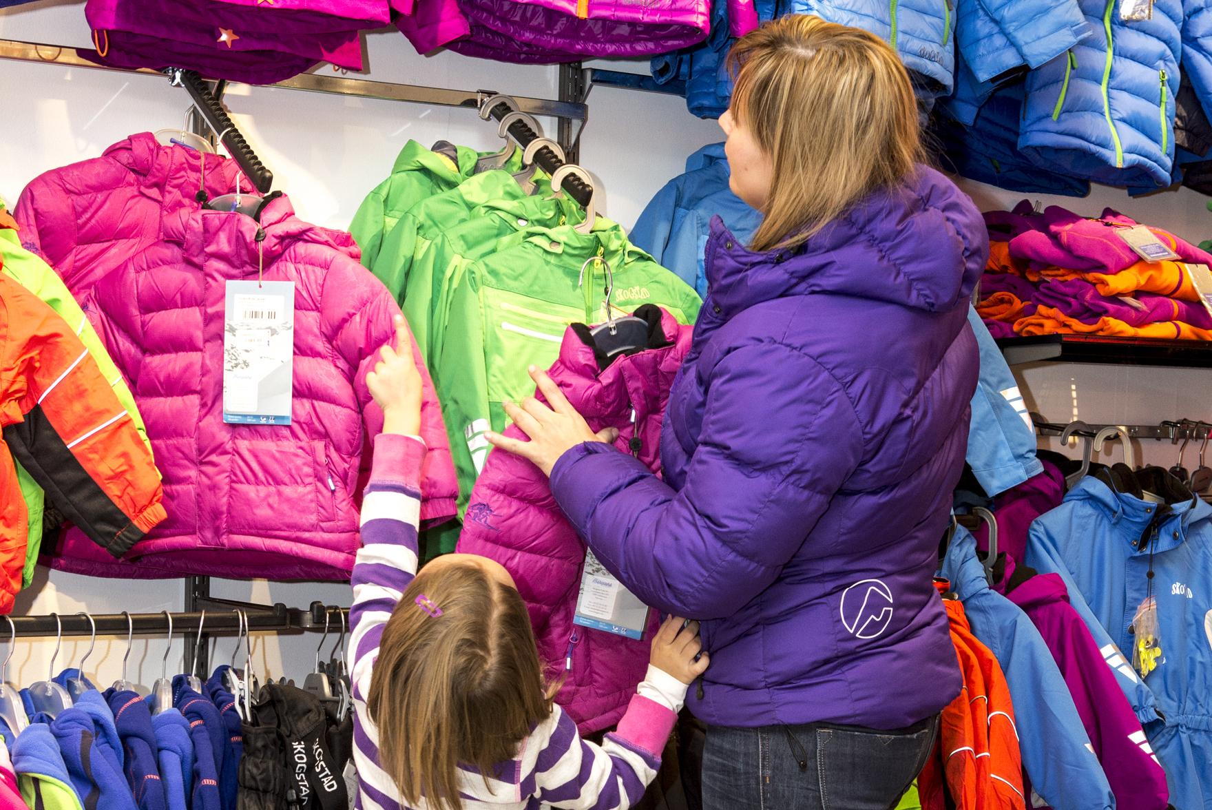 I Tinn har vi tre sportsbutikker; G-sport, Sport1 og Sport1 Gaustablikk. , © Fotograf Jacobsen