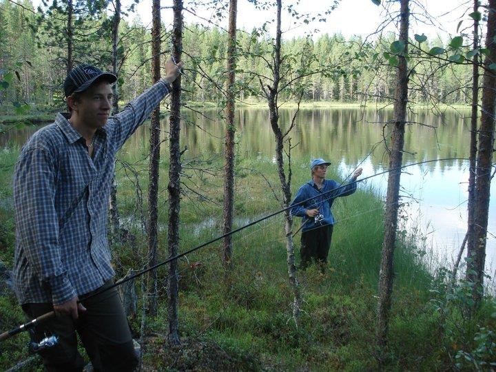 Fiske i Stortjärn