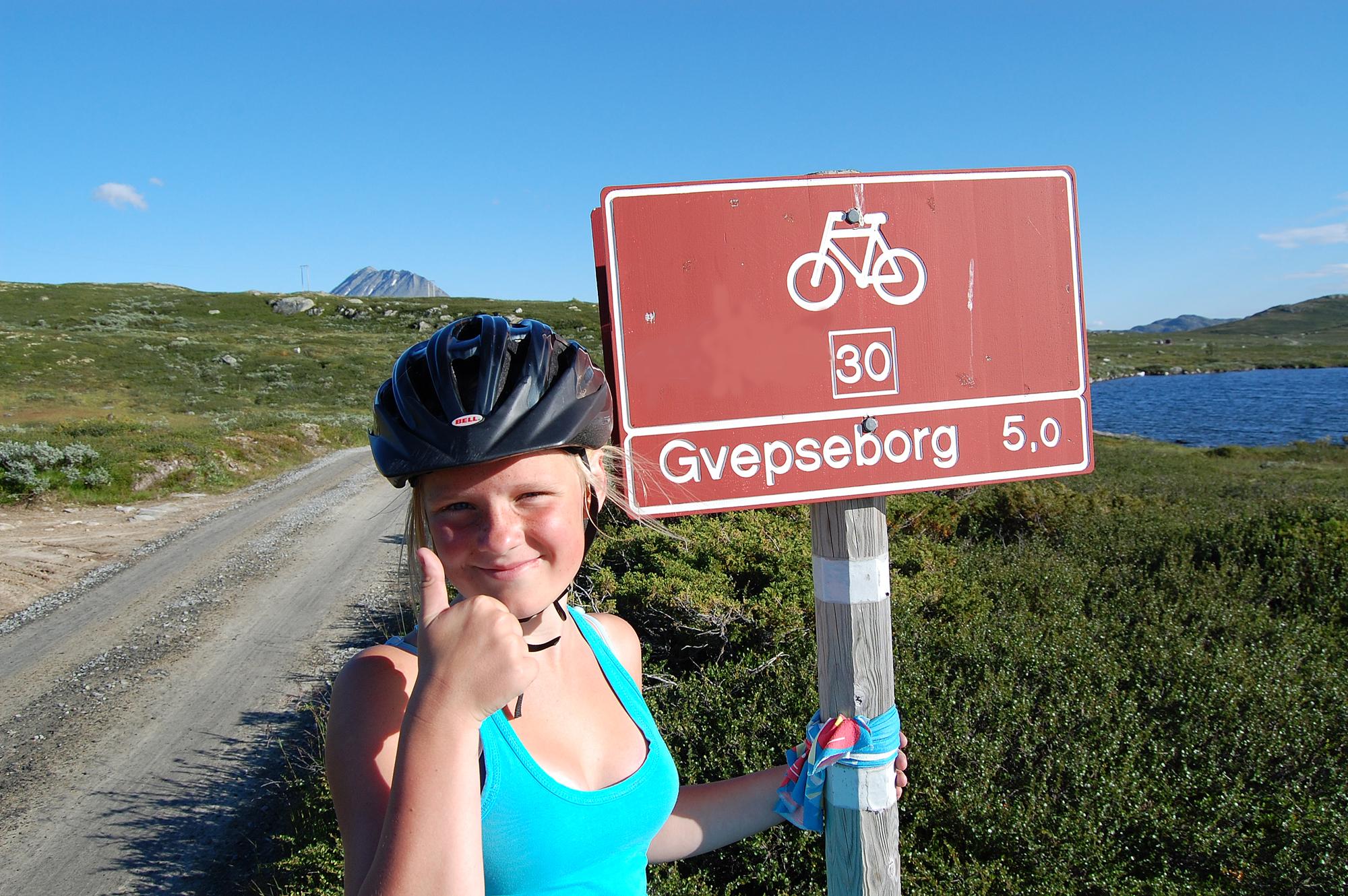 Strekningen fra Gvepseborg til Kalhovd er totalt 30 km , © Kjell Gunnar Dahle