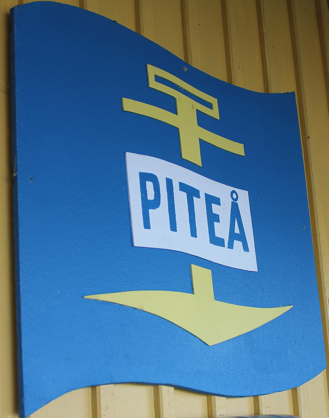 Piteå Båtklubb logotype