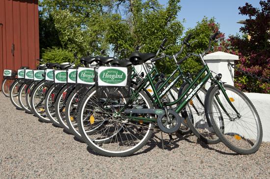 Hyr en cykel på Hotell Hovgård och cykla till Tylösand eller in till Halmstads centrum