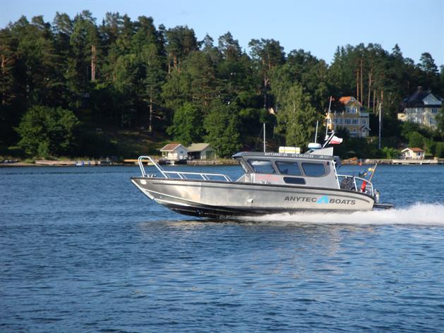 Bild på Guide Naturas båt