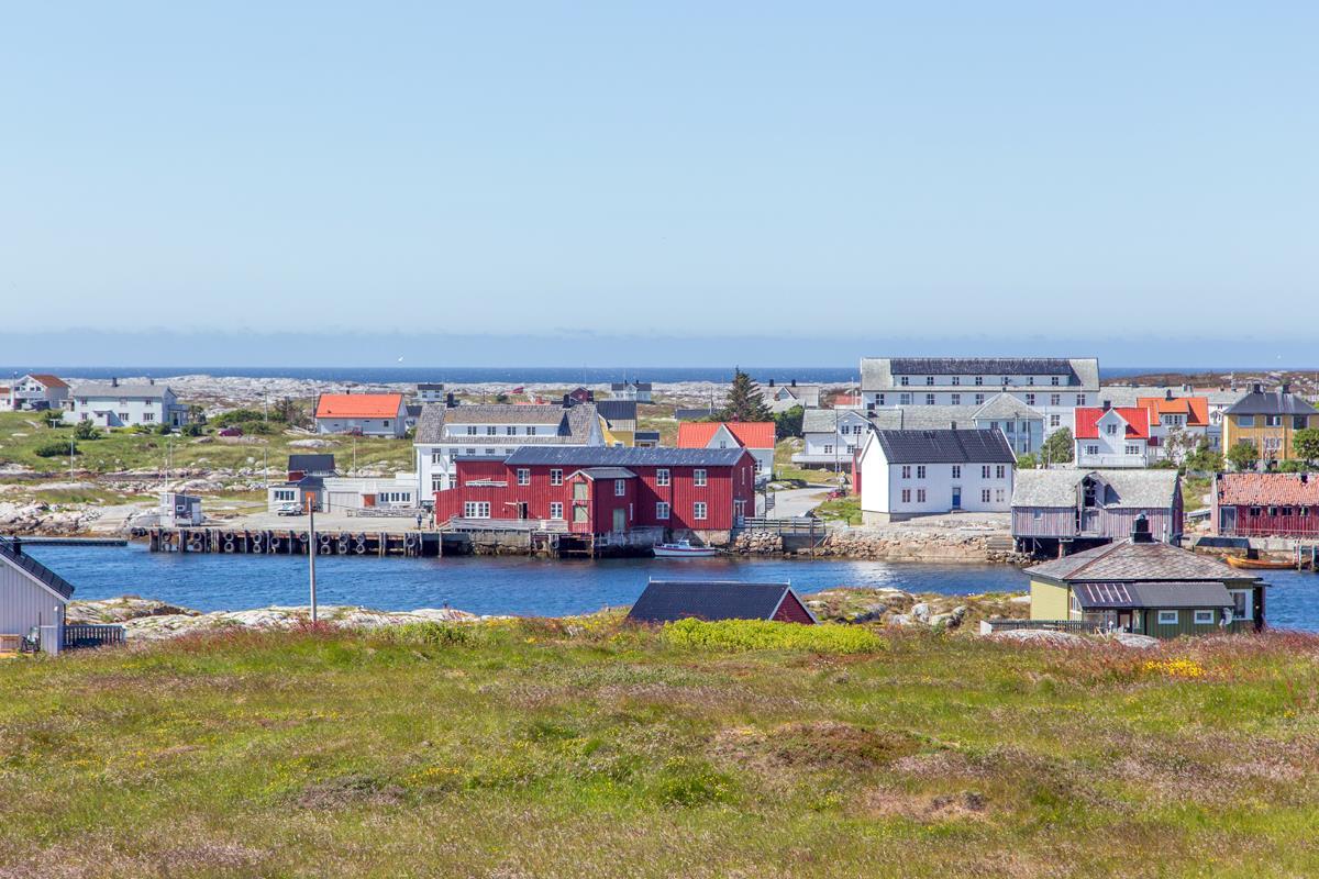 The fishing village Titran