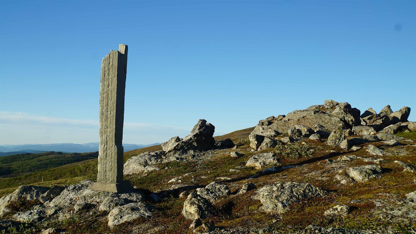 Turforslag: Nasjonalpark-bauta, Lierne nasjonalpark