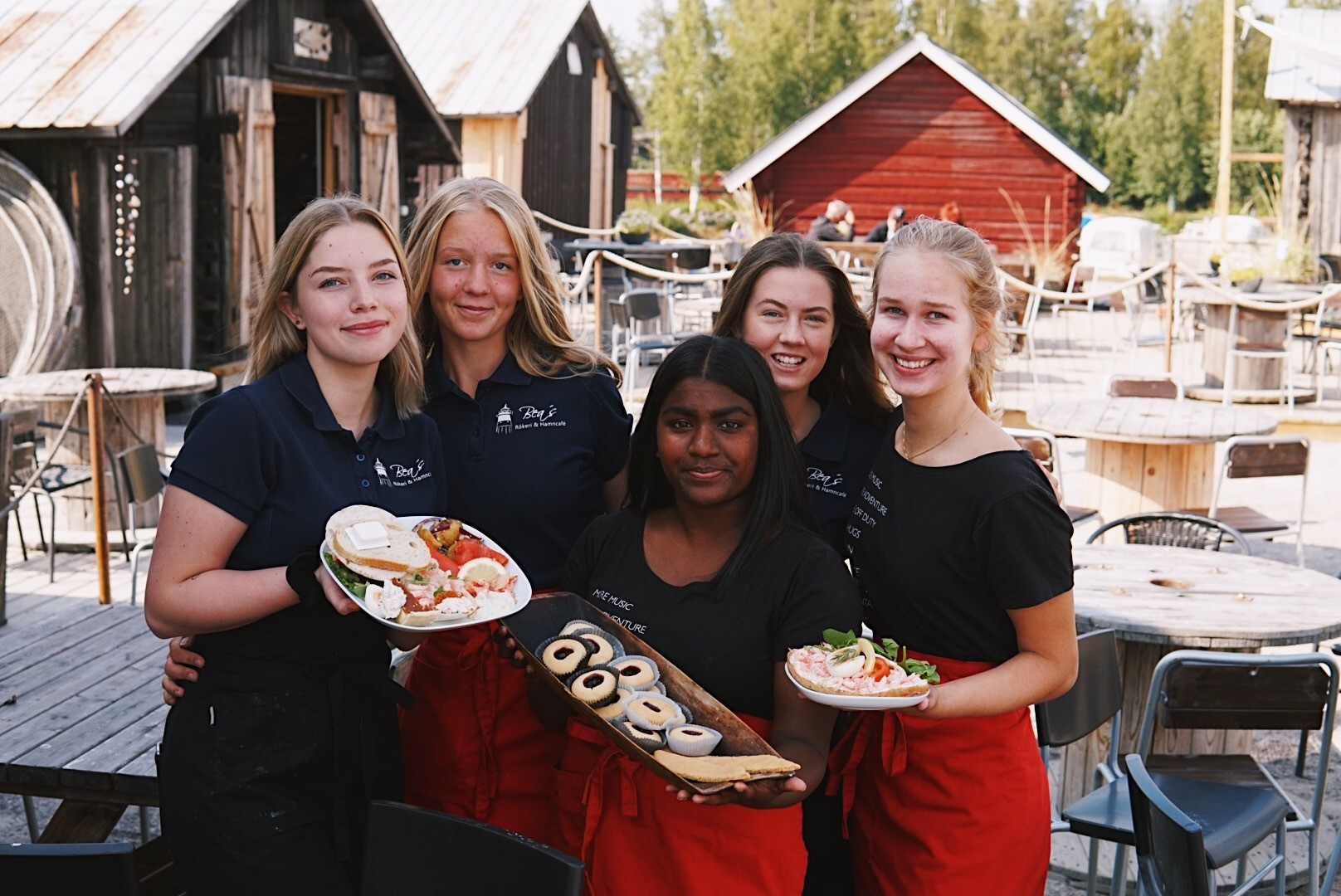 Beas-fem servitriser erbjuder