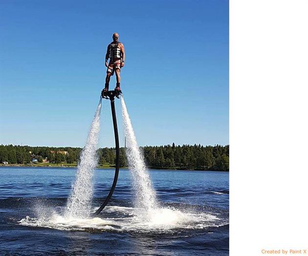 Flyboarding, Anders Källman