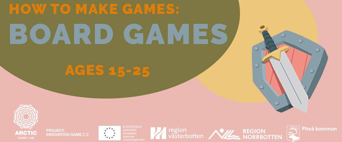 Affisch Board Games på Kaleido