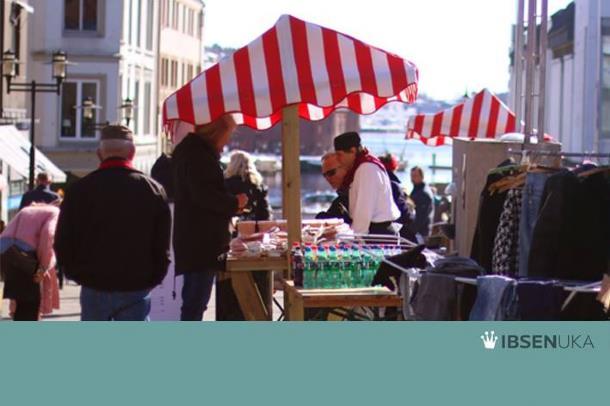 ByLørdag: Marked på Handelstorget