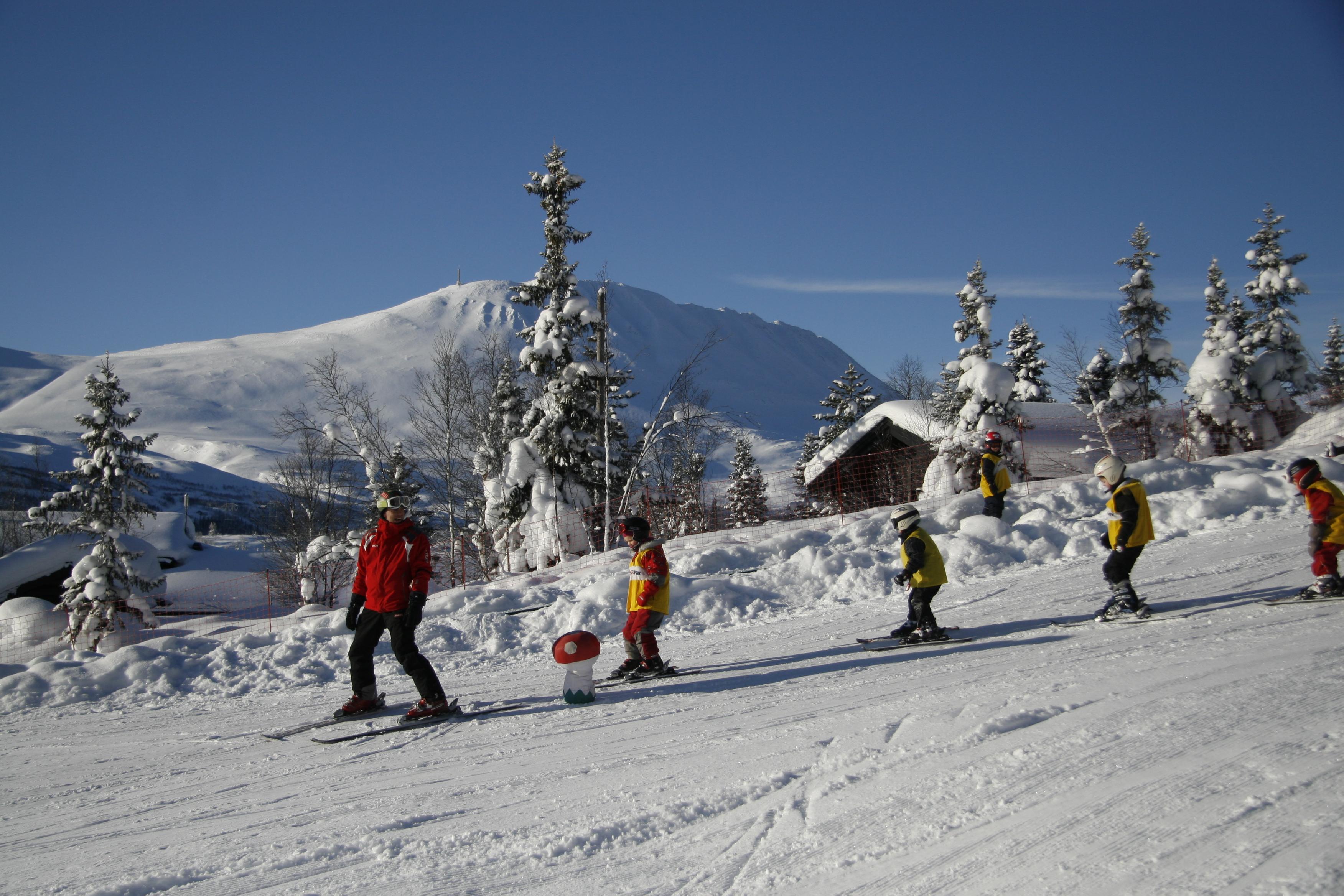 Gaustablikk Skisenter tilbyr noe for de fleste. Det være seg barnfamilier, snowboardere, alpinister og de som liker off piste, © Britt Svartdal