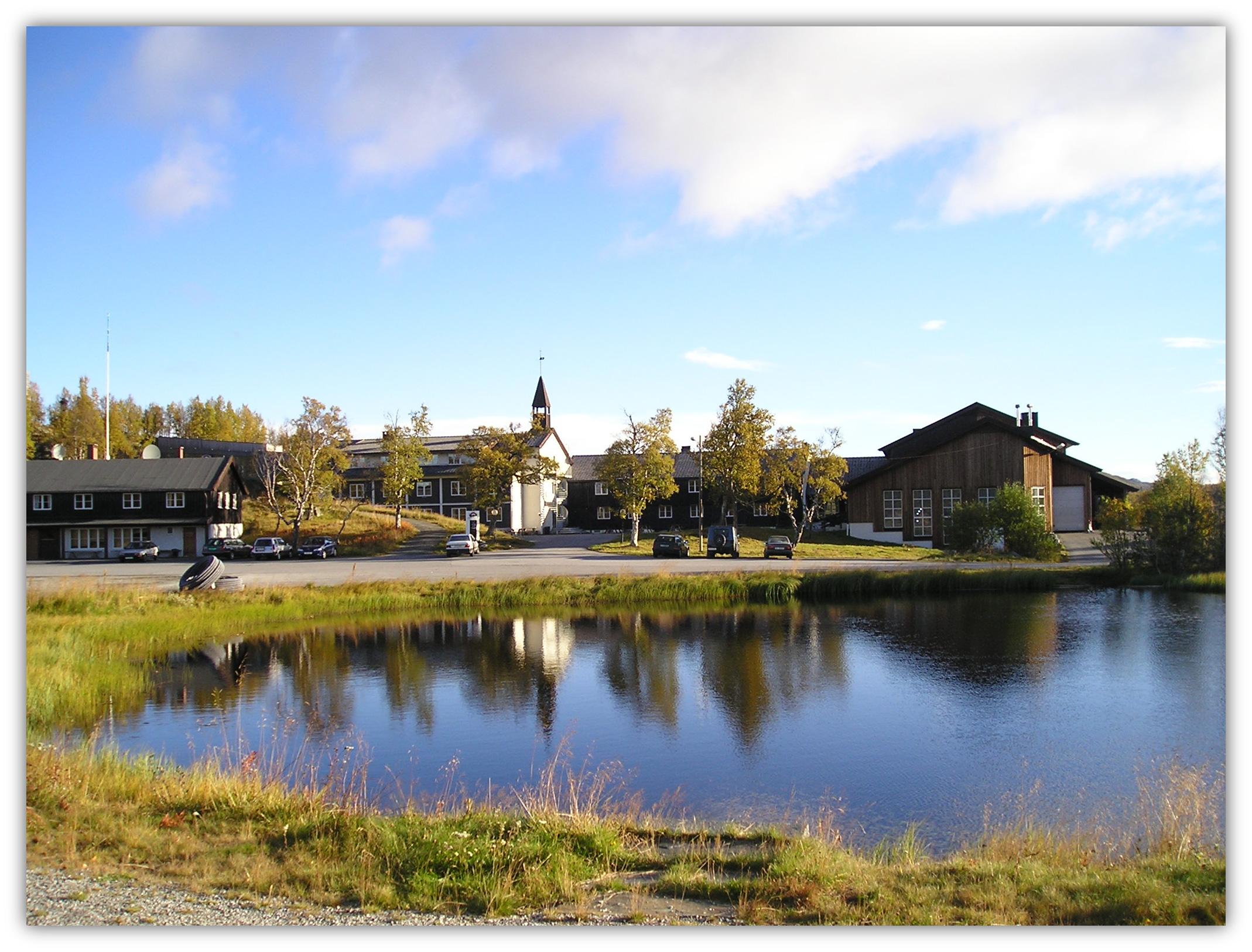 Skinnarbu Nasjonalparkhotell har flott beliggenhet - 1000 m.o.h., på terskelen til Hardangervidda. , © Skinnarbu Nasjonalparkhotell