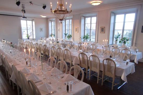 Wapnös mötesrum rymmer upp till 100 personer och lämpar sig också bra för middagar