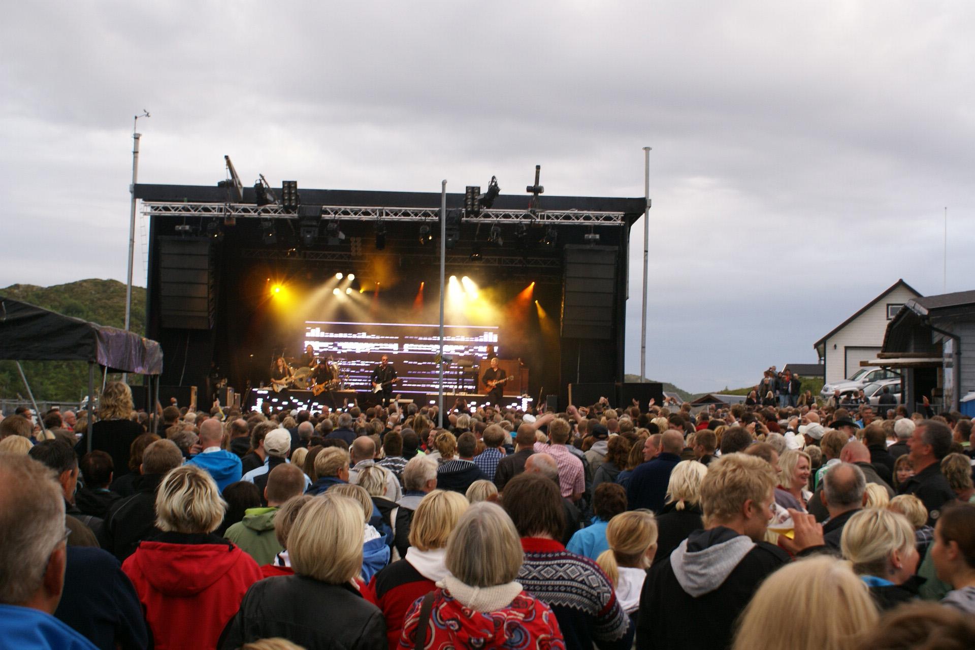 Knarren - Ågekonsert. Copyright: Knarren Brygge