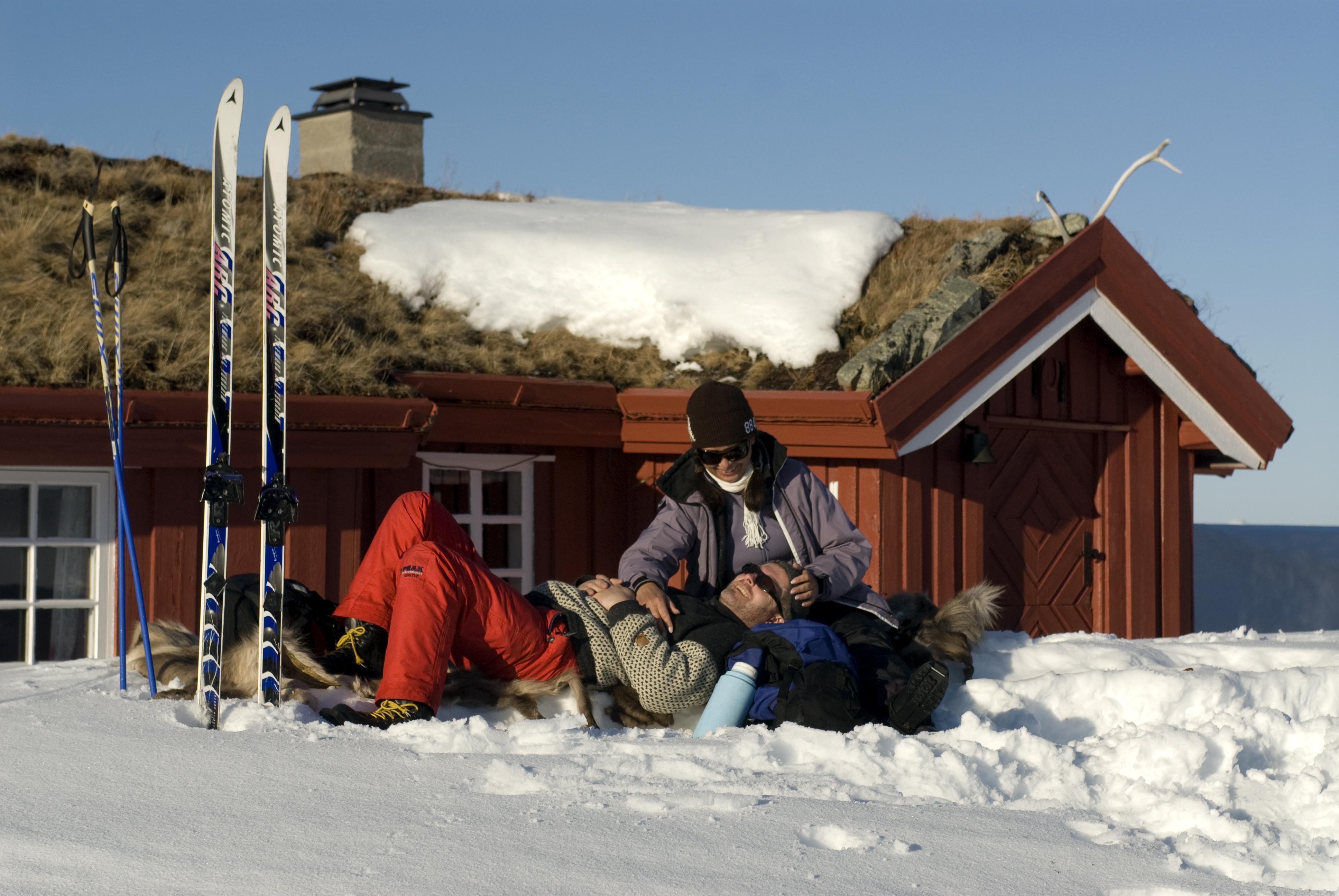 I området er det mange muligheter for kortere og lengre fotturer og skiturer - enten en rundtur i området eller videre til andre hytter. , © Christian Houge/Innovasjon Norge