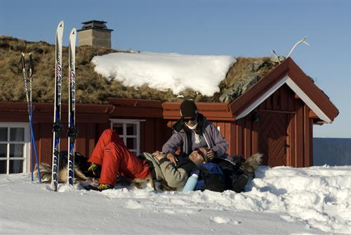 I området er det mange muligheter for kortere og lengre fotturer og skiturer - enten en rundtur i området eller videre til andre hytter., © Christian Houge/Innovasjon Norge