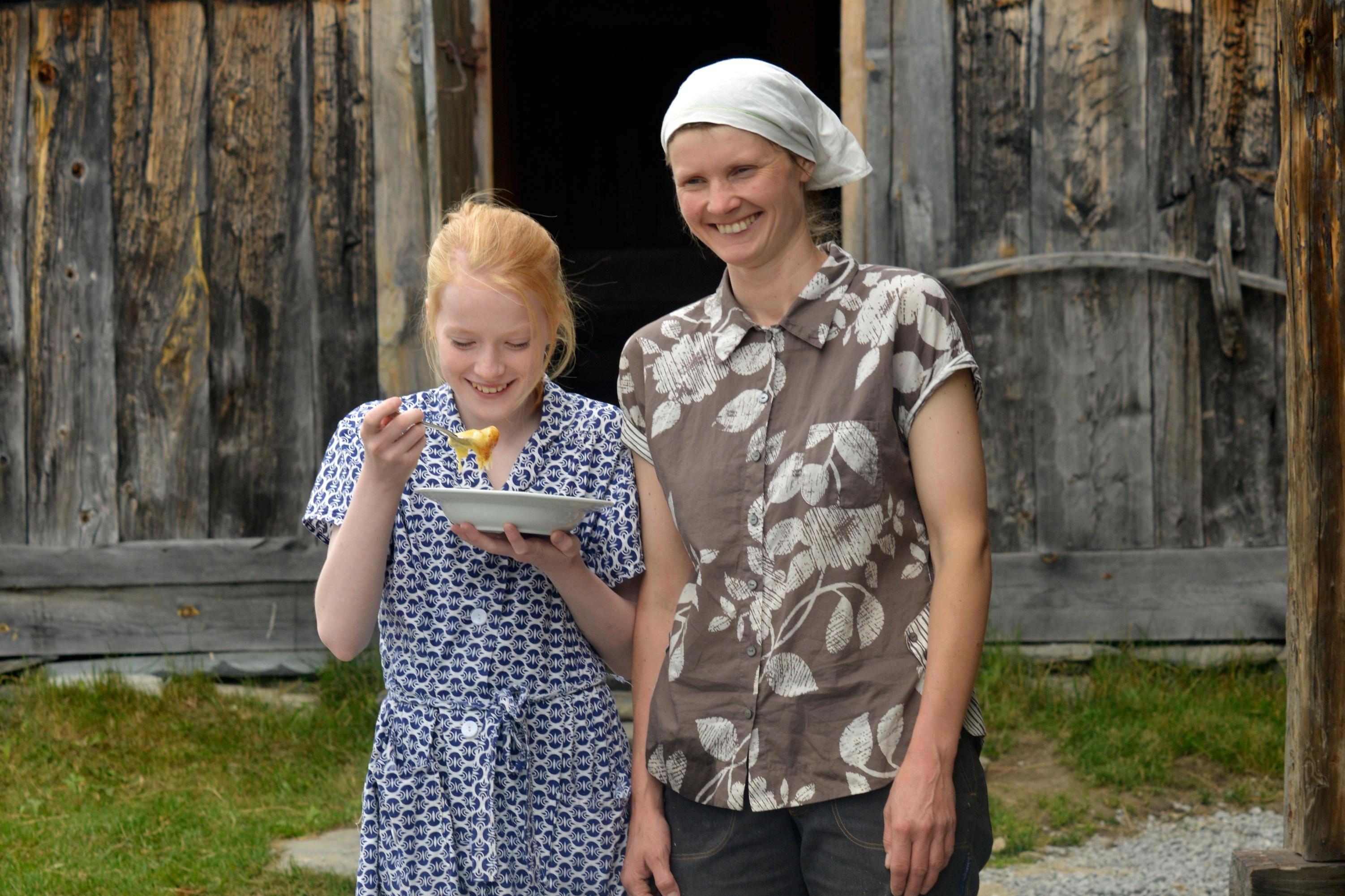 Håvardsrud Seterliv i Skirvedalen er drevet av Ingebjørg Håvardsrud. Av og til må hele familien trå til.  , © Nancy Bundt