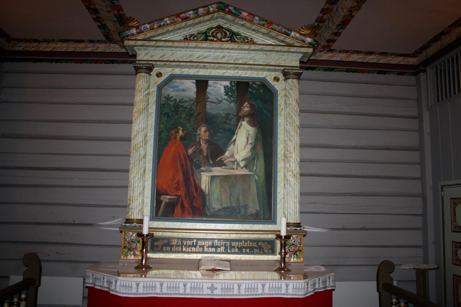 Konfirmasjonsgudstjeneste i Mæl kyrkje