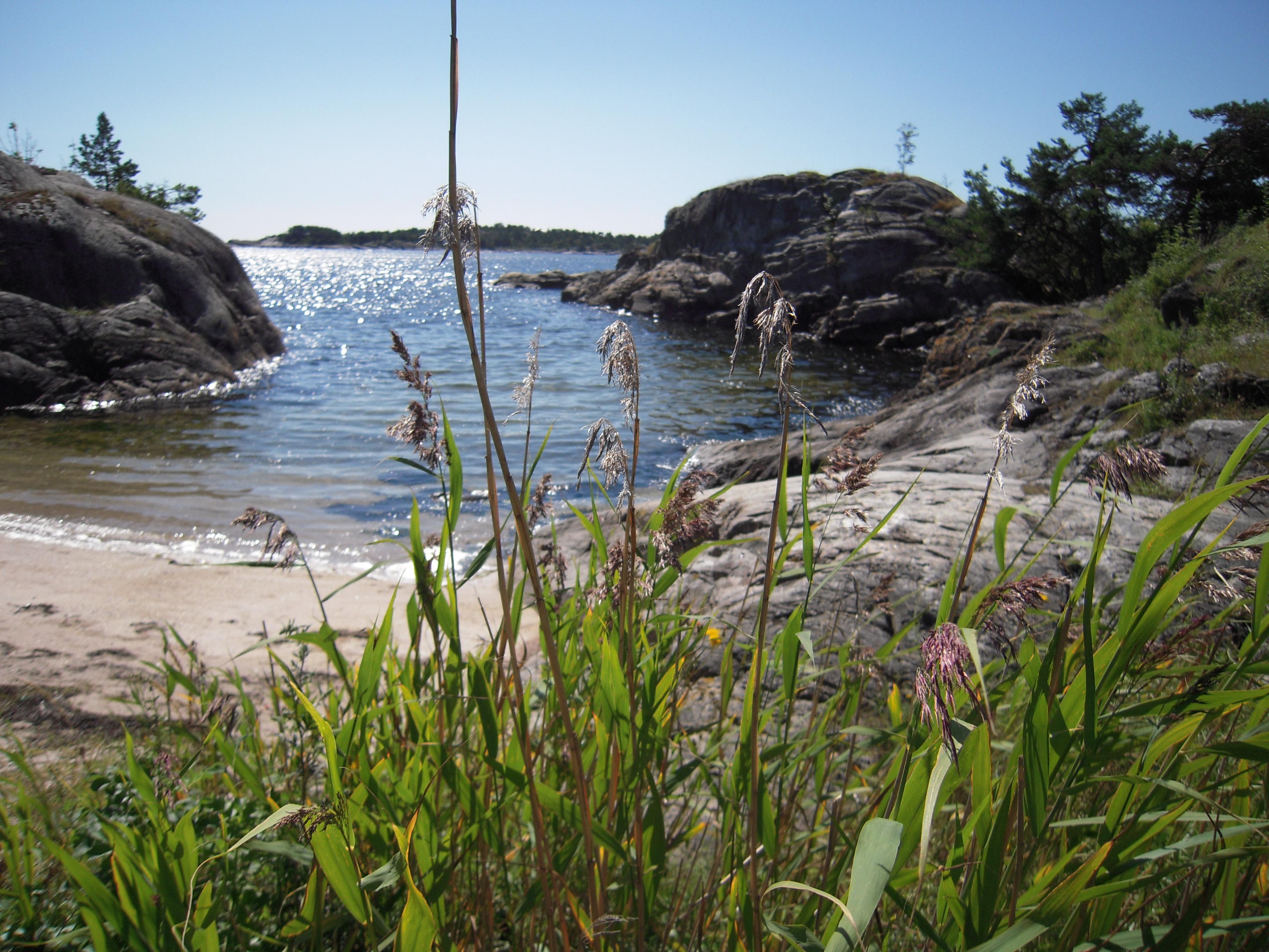 Ivarsand, en flott strand som ligger langs kyststien, © Steinar Skilhagen