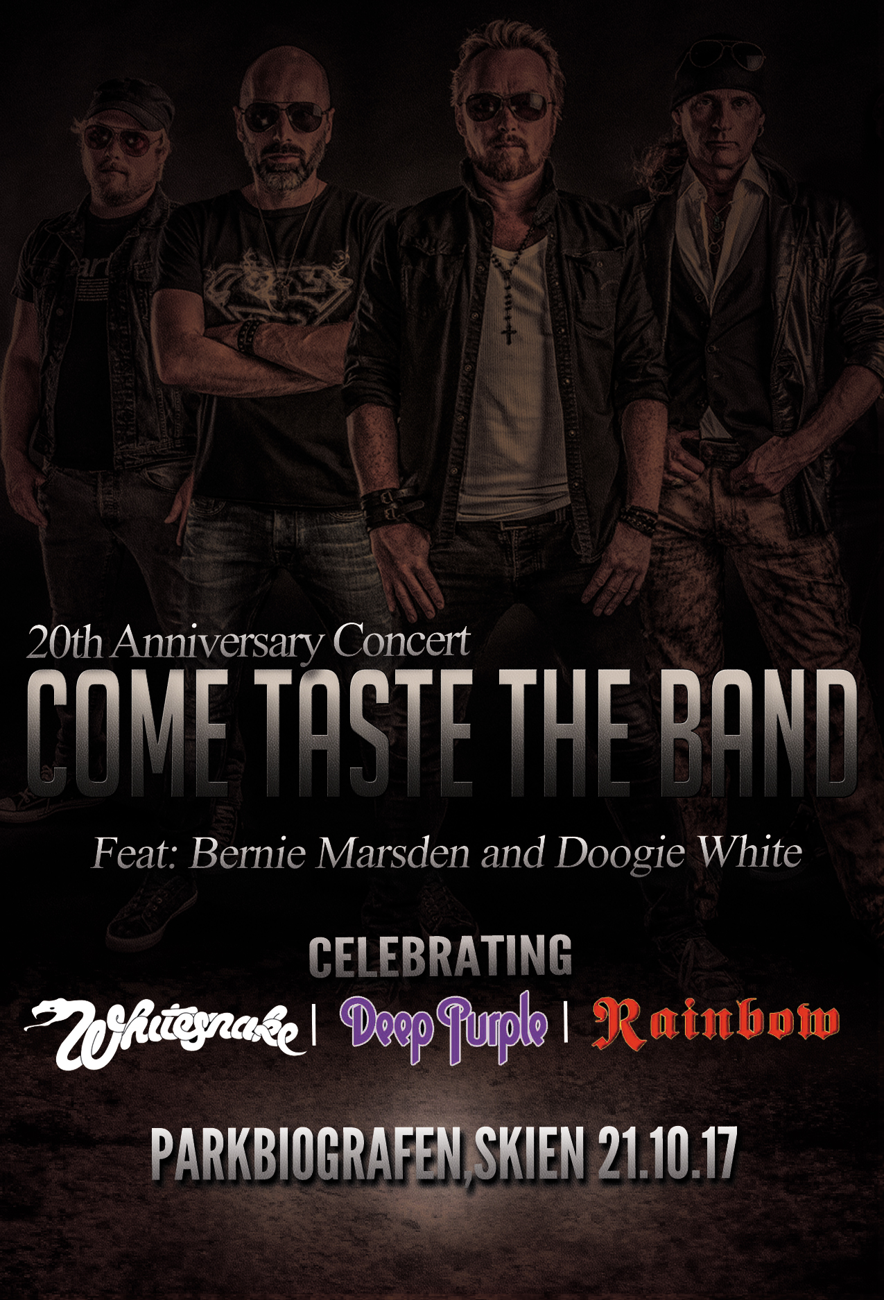 Come Taste the Band feat. Bernie Marsden & Doogie White + Anthem
