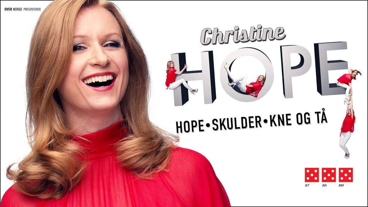 Christine Hope: Hope, skulder, kne og tå