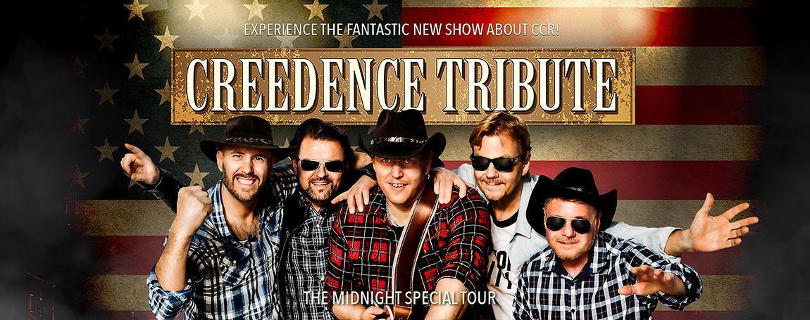 Creedence Tribute - Rockin All Over The World FLYTTAD FRÅN 11/12 TILL 29/10 2021
