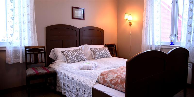 One of the Bedrooms at Strømnes in Inderøy, along the Golden Road. Copyright: Strømnes