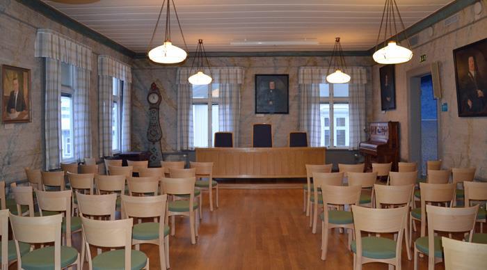 Sessionssalen konferenslokal