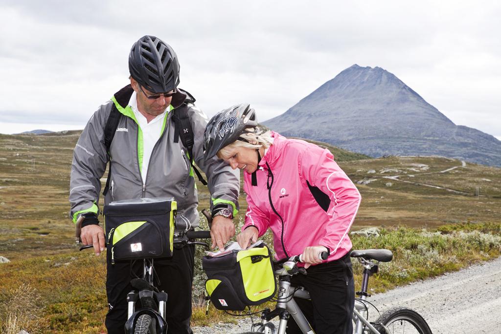 Sykkel på Hardangervidda tar deg igjennom vill og vakker høyfjellsnatur.  , © Fotograf Jacobsen