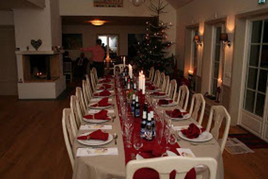 Hjortseryd, på gränsen mellan Halland och Småland, erbjuder en fantastisk miljö för julmiddagar och julkonferens.