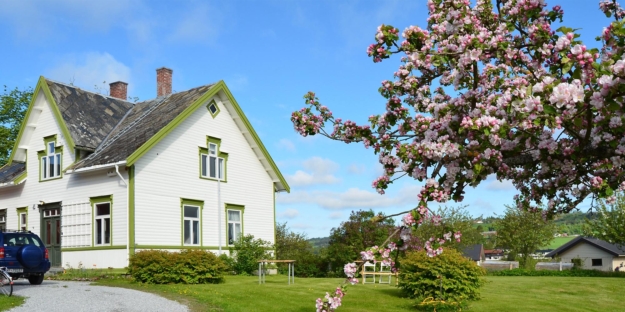 Strømnes, Oldefars hus i Straumen langs Den Gyldne Omvei. Copyright: Strømnes