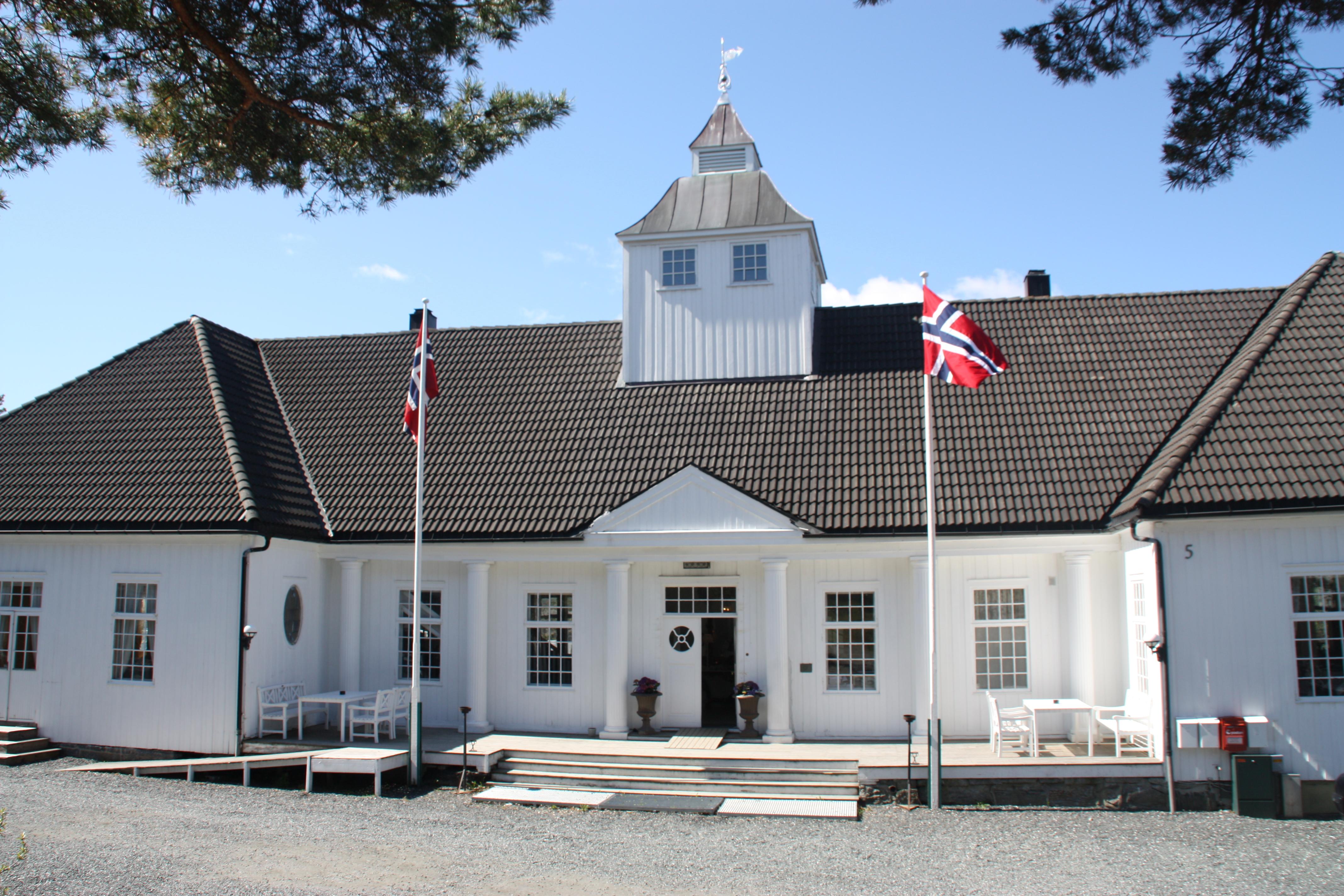 Ett av de best bevarte badehotellene på Øst og Sørlandet, beliggende i Telemark, © Langesund Bad
