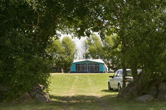 Härliga campingtomter