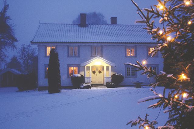 Jul på Nyhuus, © Halvor Holtskog