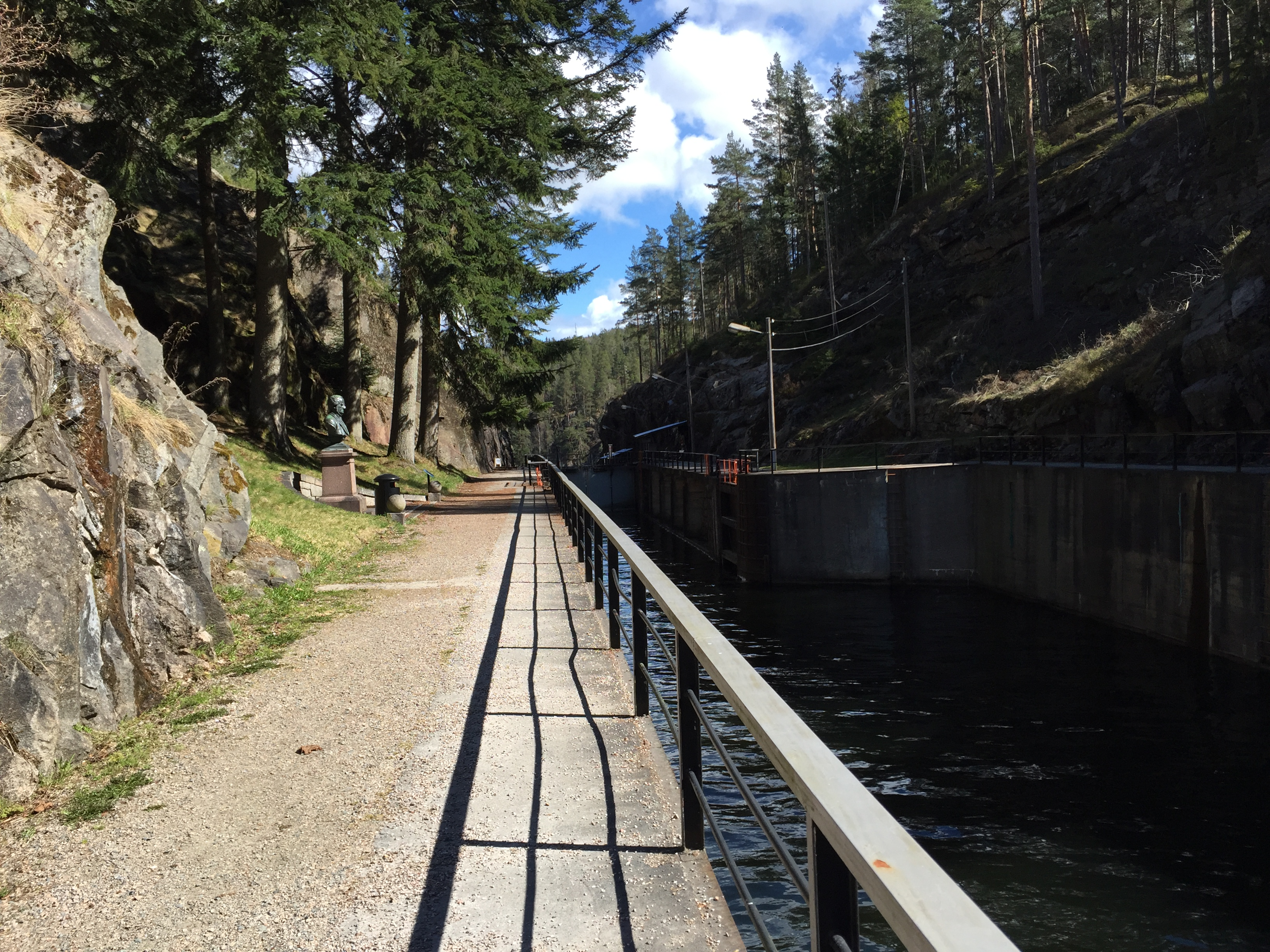 Loved Locks, a part of the Telemark Canal, © Mette Lilleberg