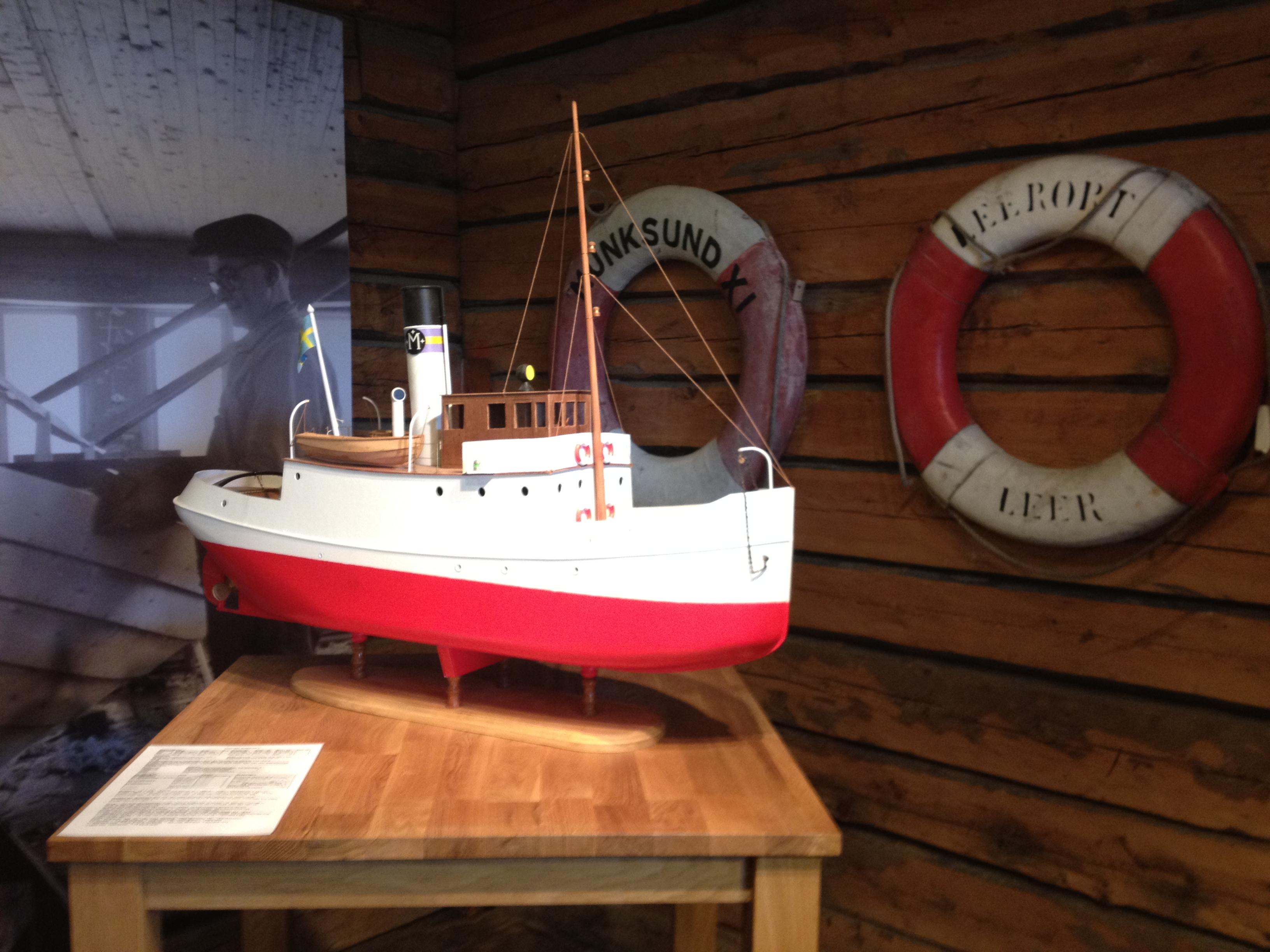 Båt i Utställning