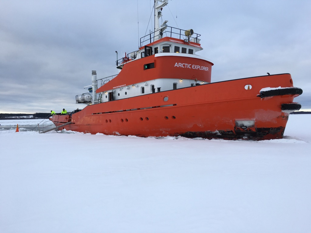 A picture of the Artic Explorer, Pite Havsbad