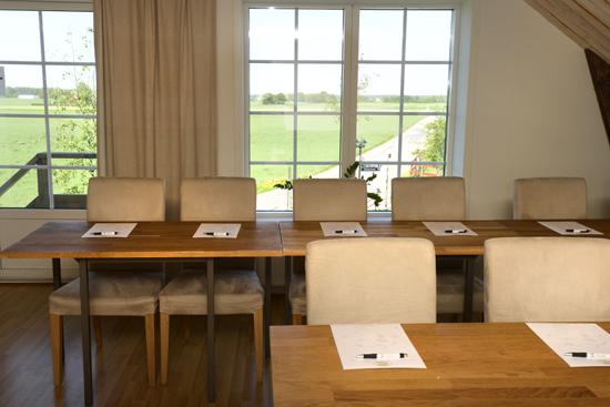 Lanthotell Lögnäs gård utanför Laholm erbjuder kreativa och personligt inredda konferensrum