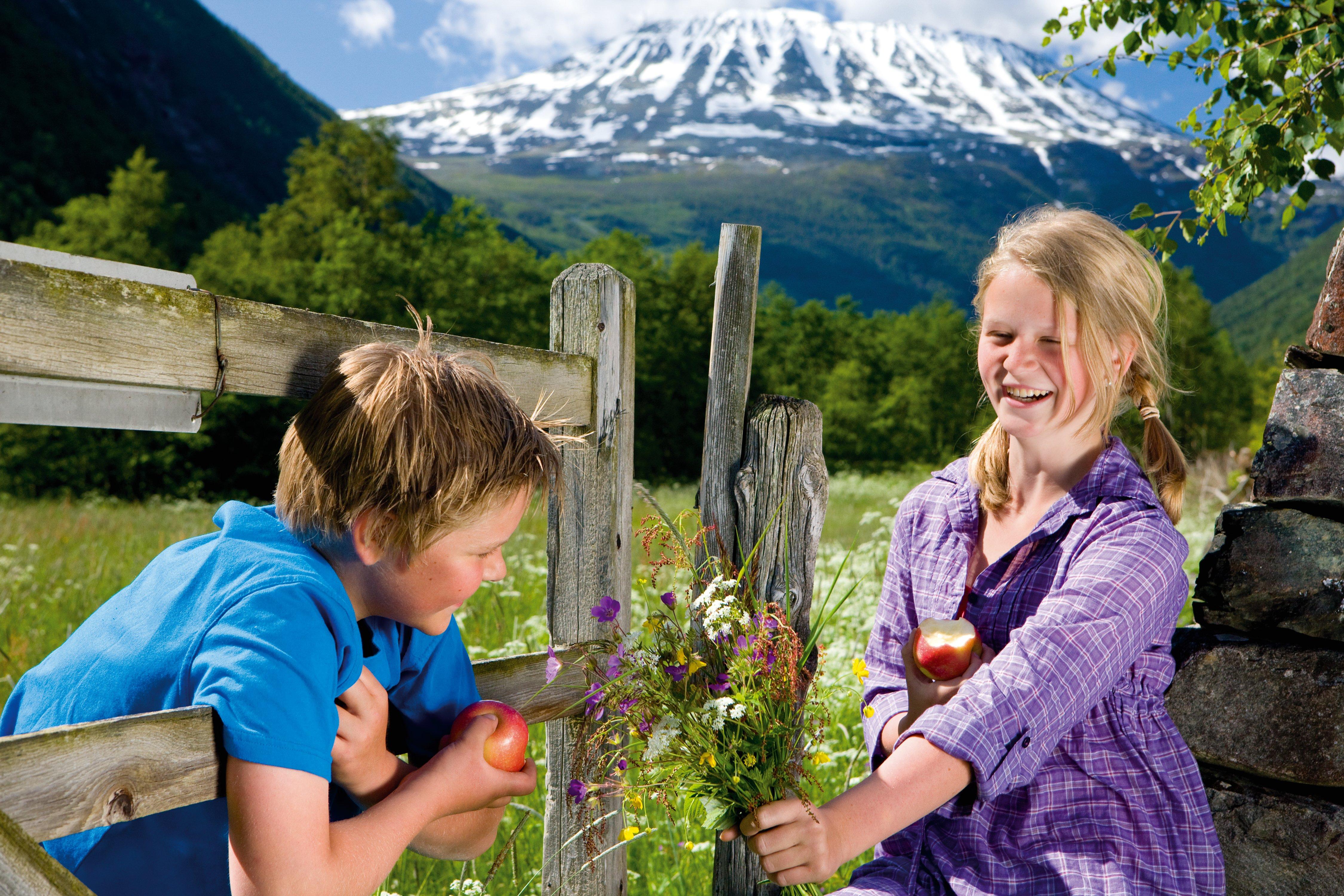 Rjukan Hytte og Caravanpark ligger vakkert til, med utsikt mot Gaustatoppen , © Espen Halvorsen