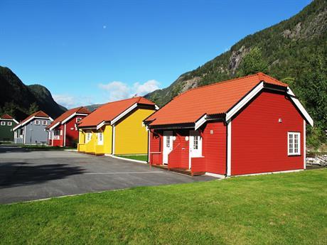 Hytter som er kopier av de første arbeiderboligene på Rjukan , © Knut Erik Jakobsen