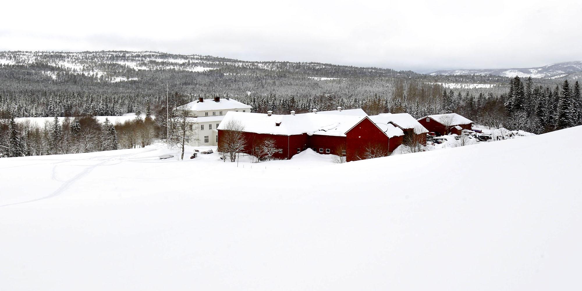 Mokk farm in winter. Copyright: Mokk gård
