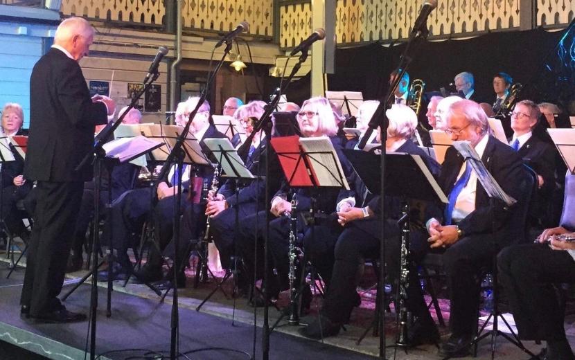 Grenland Veterankorps feirer sin første konsert