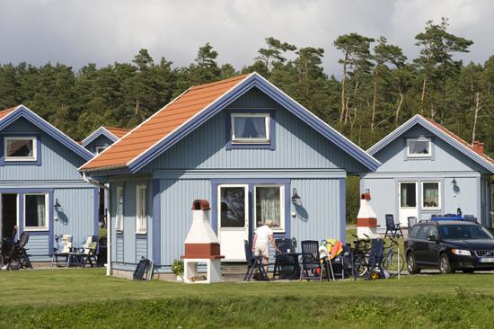 Stugorna på Espeviks camping