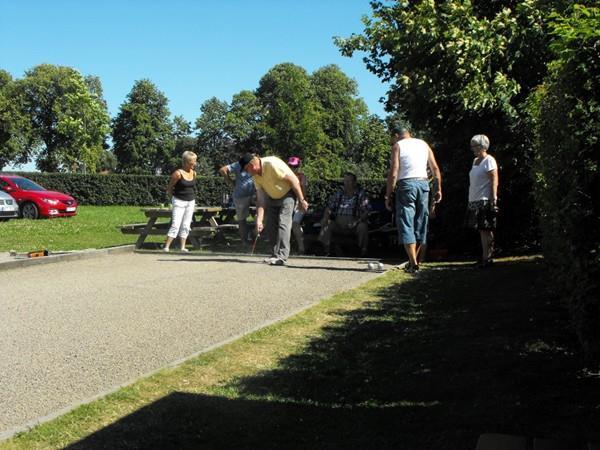 Boulespel, © SPF Seniorerna Veinge-Tjärby