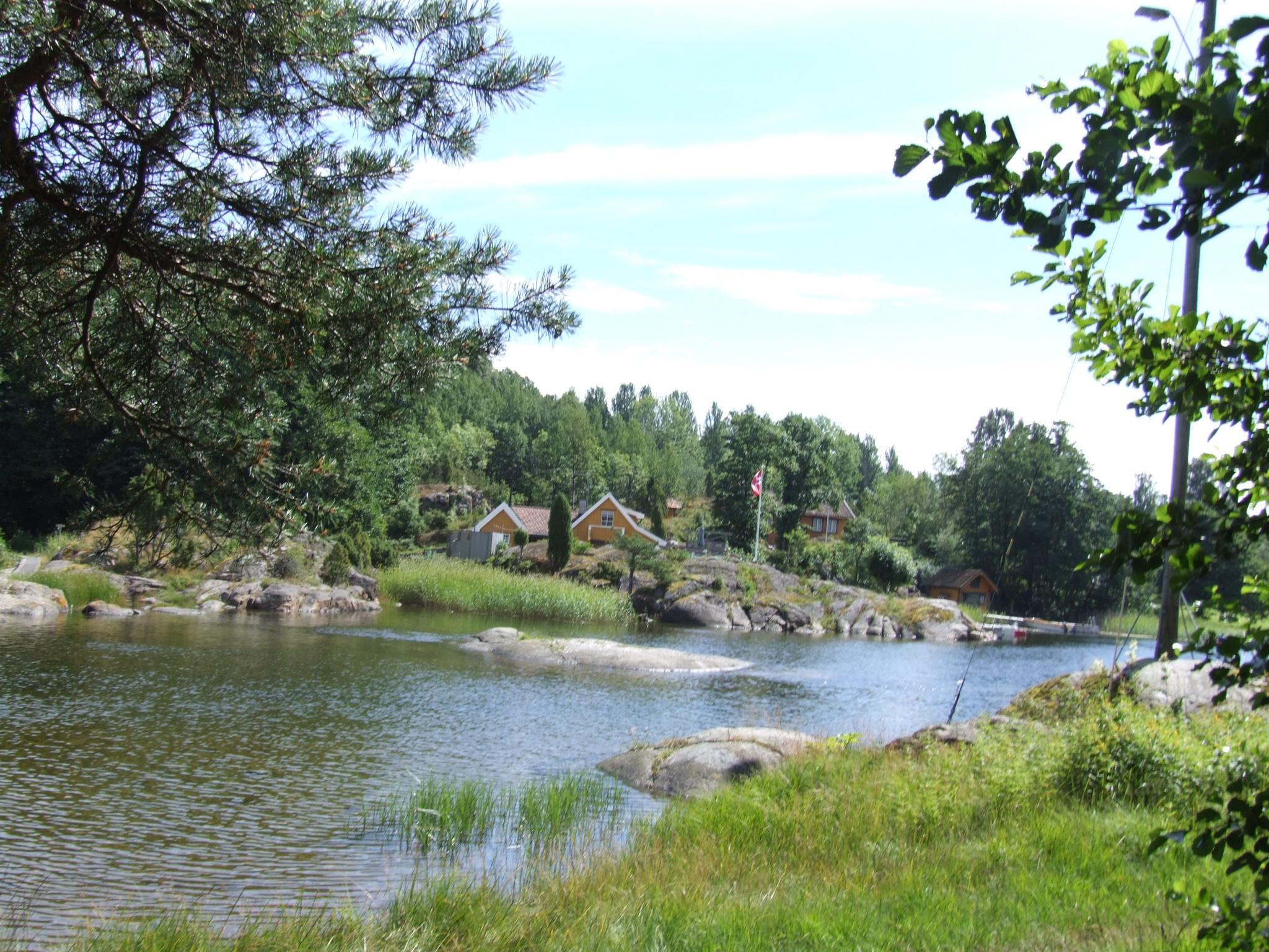 Utsikt fra stien fra Dikkon til Løvøya., © Visit Telemark