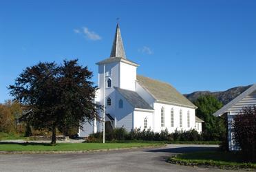 Sommarutstilling med Sivert Ørevik i Valestrand kulturkyrkje